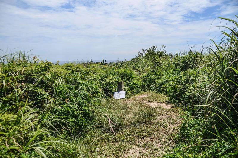 鼻頭山南峰冠字保(26)土地調查局圖根點(Elev. 118 m)