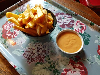 Large Chips with Chipotle Aioli at Paper Moon and Wild Spice Kitchen