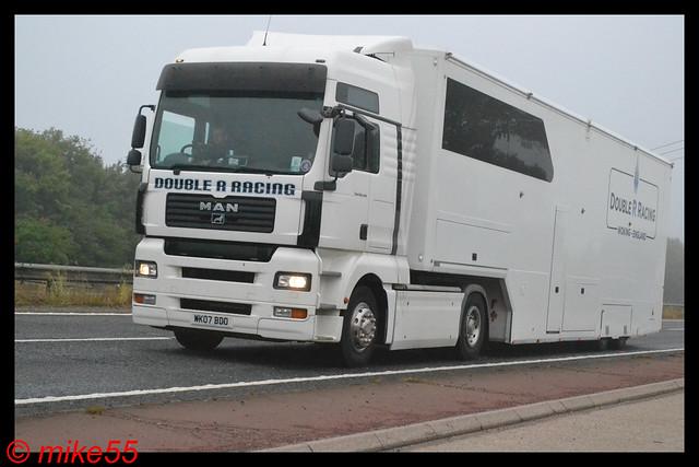MAN TGA 'Double R Racing' reg WK07 BDO