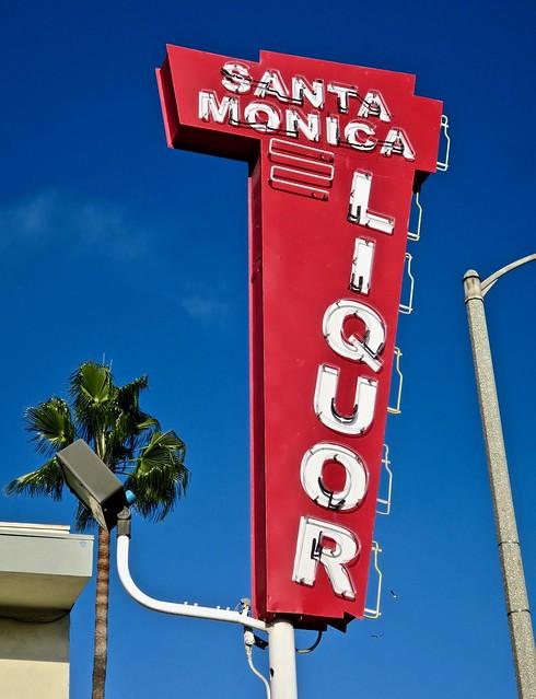 Santa Monica Liquor, Santa Monica, CA