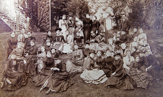 1876 Group Photo of young women