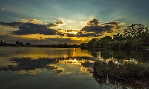 canon6d landscape nature outdoors outside sky clouds reflections lake uk cambridgeshire
