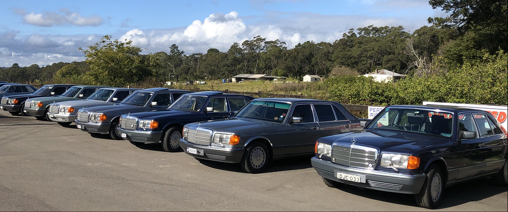 Mercedes Club drive to Peats Ridge