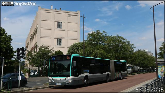 Mercedes-Benz Citaro G C2 – RATP (Régie Autonome des Transports Parisiens) / Île de France Mobilités n°5387