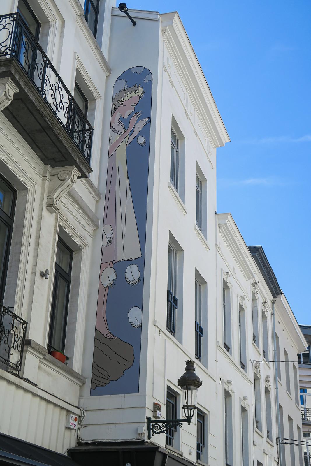 Mural rue de Namur