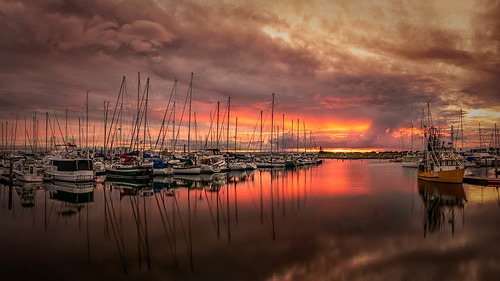 sunset marina scarborough slideportfolio seascape facebook open flickr qld brisbane queensland australia