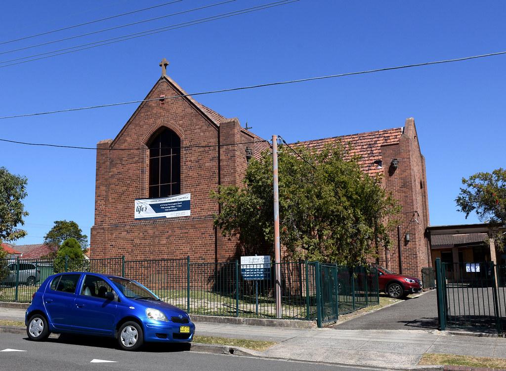 St James Anglican Church, Carlton, Sydney, NSW.