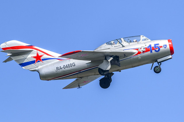 MiG-15UTI - private owned