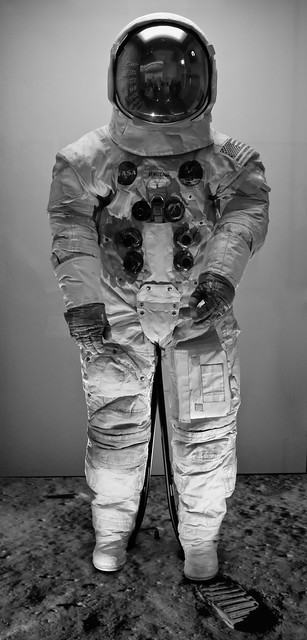 First Spacesuit on the Moon