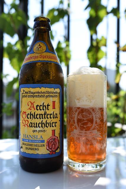 Aecht Schlenkerla Rauchbier Hansla by Brauerei Heller