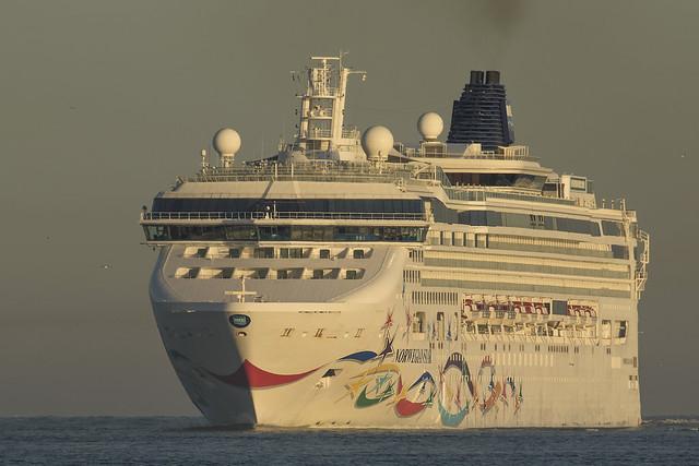 NORWEGIAN STAR  Passenger Ship - Nieuwe Waterweg - Hoek van Holland