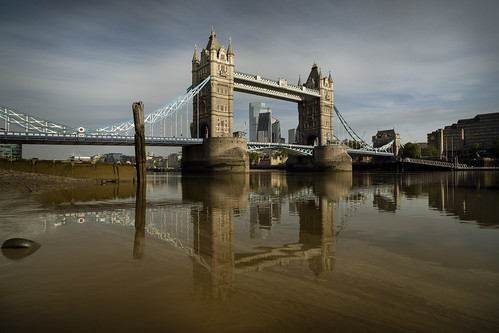 Tower Bridge Reflections (Explore #75)