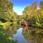 Down Lancaster Canal at Preston