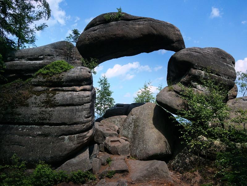 Broumovské stěny, Kamenná brána