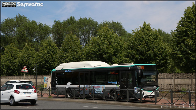 Iveco Bus Urbanway 12 hybride – RATP (Régie Autonome des Transports Parisiens) / Île de France Mobilités n°6092