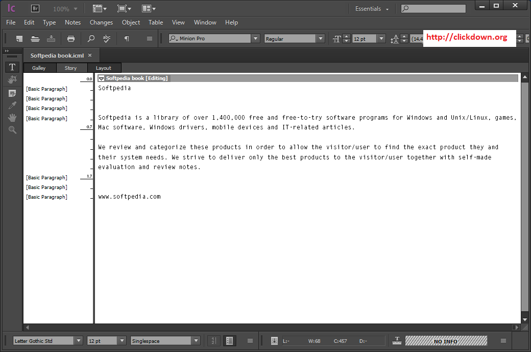 Working with Adobe InCopy 2020 v15.1.1.103 full