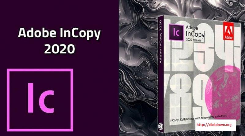Adobe InCopy 2020 v15.1.1.103 x64 full license