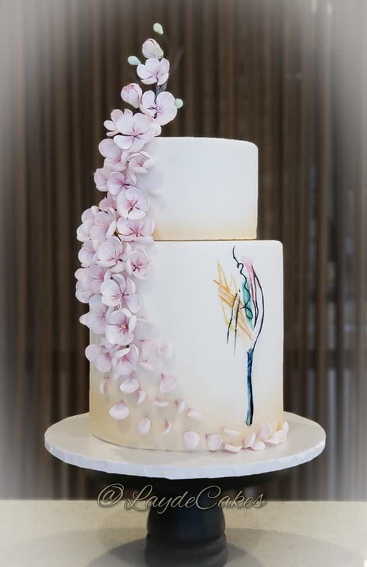 Cake by Layde Cakes