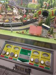 Miniature train at Duisburg Hbf, May 2019