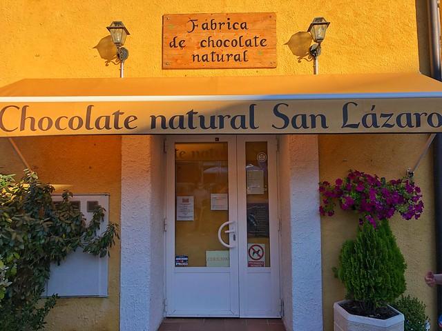 Fábrica de chocolate natural de San Lázaro en Rascafría (Madrid)