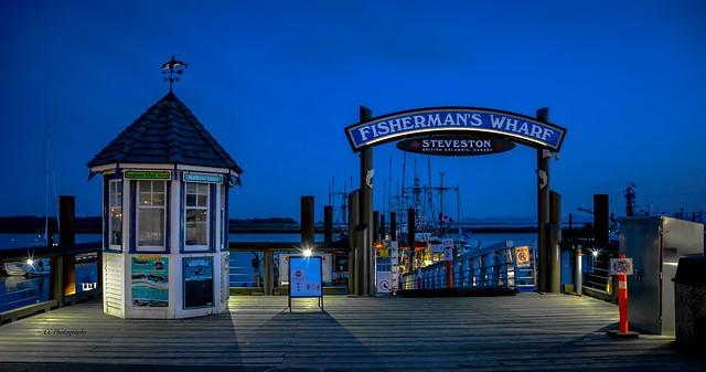 FISHERMAN'S WHARF -  Steveston, British Columbia Canada