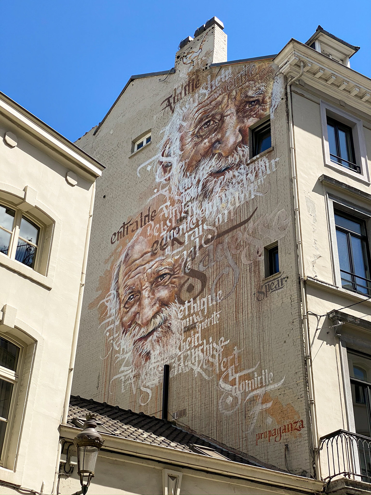 Sagesse Mural by Spear