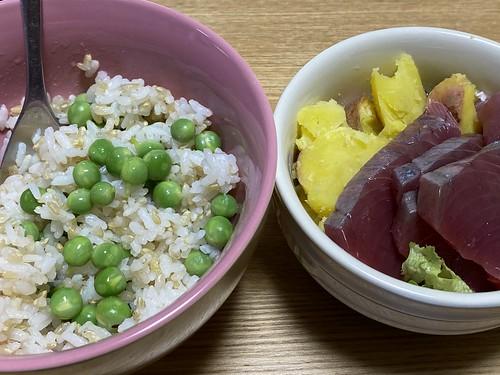 グリーンピース 豆ご飯