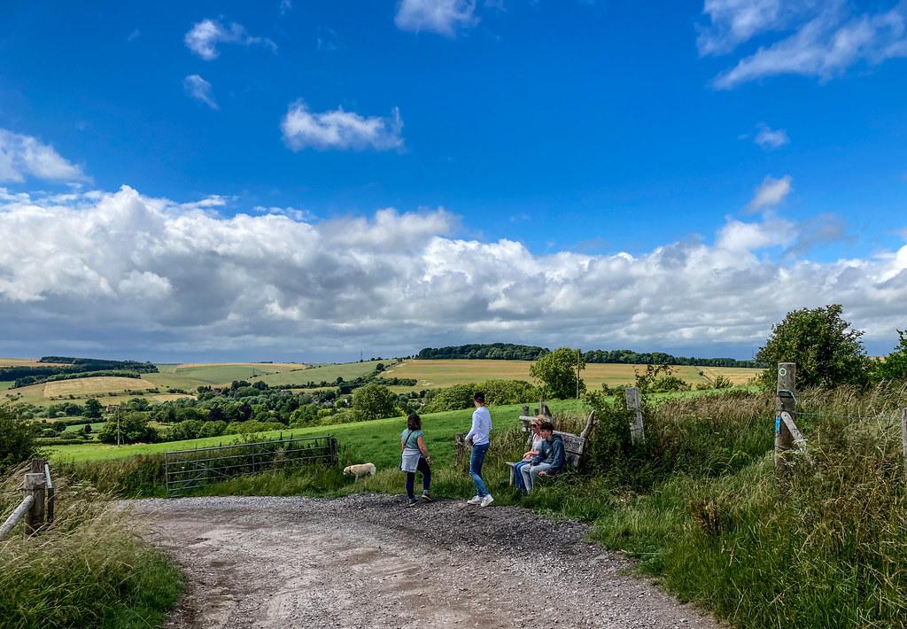 Views near Lower  Woodford