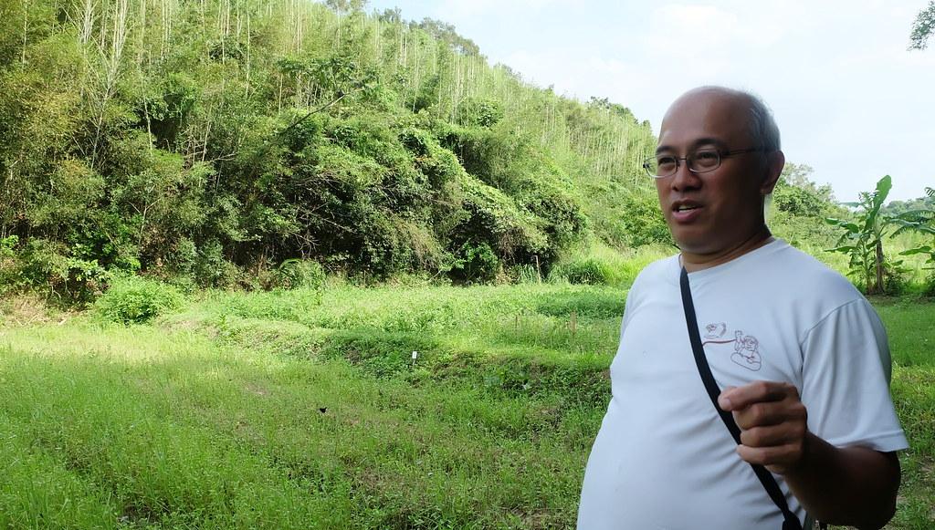李璟泓田裡的食物提供人與野生動物生活,但野生動物生存不能沒有棲地。攝影:陳文姿