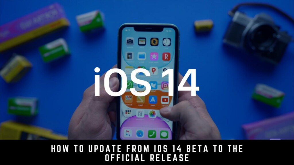 How to update from iOS 14 beta to the official release
