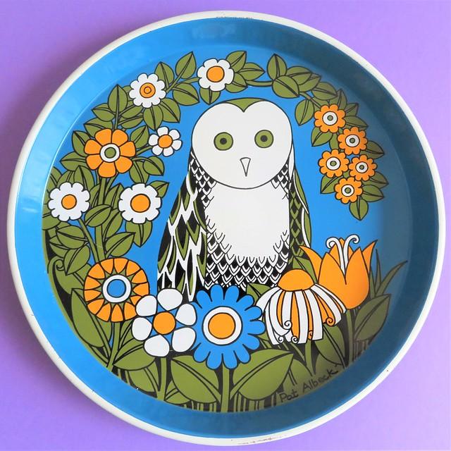 Pat Albeck / Owl Tray