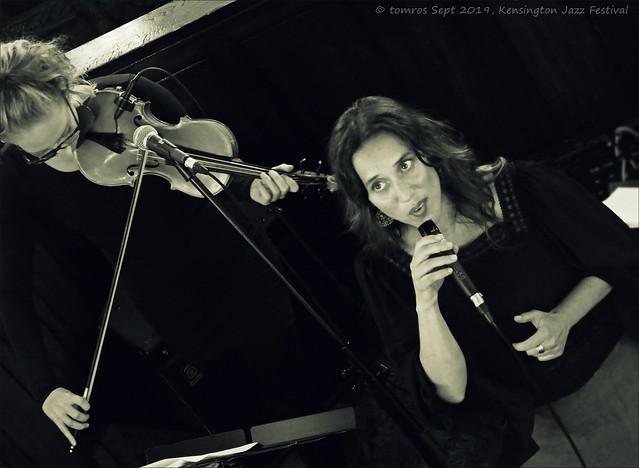 Aviva Chernick, Vocals. Kensington Jazz Festival, September 2019.