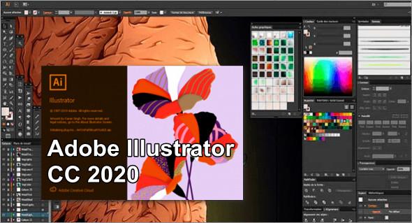 Working with Adobe Illustrator CC 2020 v24.2.0.490 full license