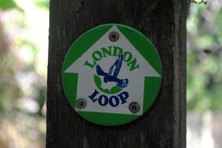 London loop waymarker