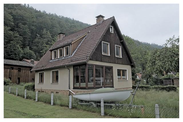 Hausboot oder Bootshaus?