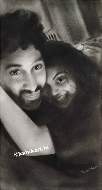 Charcoal Drawing https://www.kalakari.in  Visit my website to explore my artgallery  For commissions, Contact us at +91 7774099936 #art #artworld #instagood #instaartist #instagram #instagrammers #instaart #instaartwork #charcoal #charcoaldrawing #couple