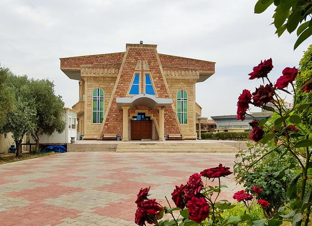 Happy Sunday ! / Saint John the Baptist Cathedral, Ankawa, Erbil, Iraqi Kurdistan