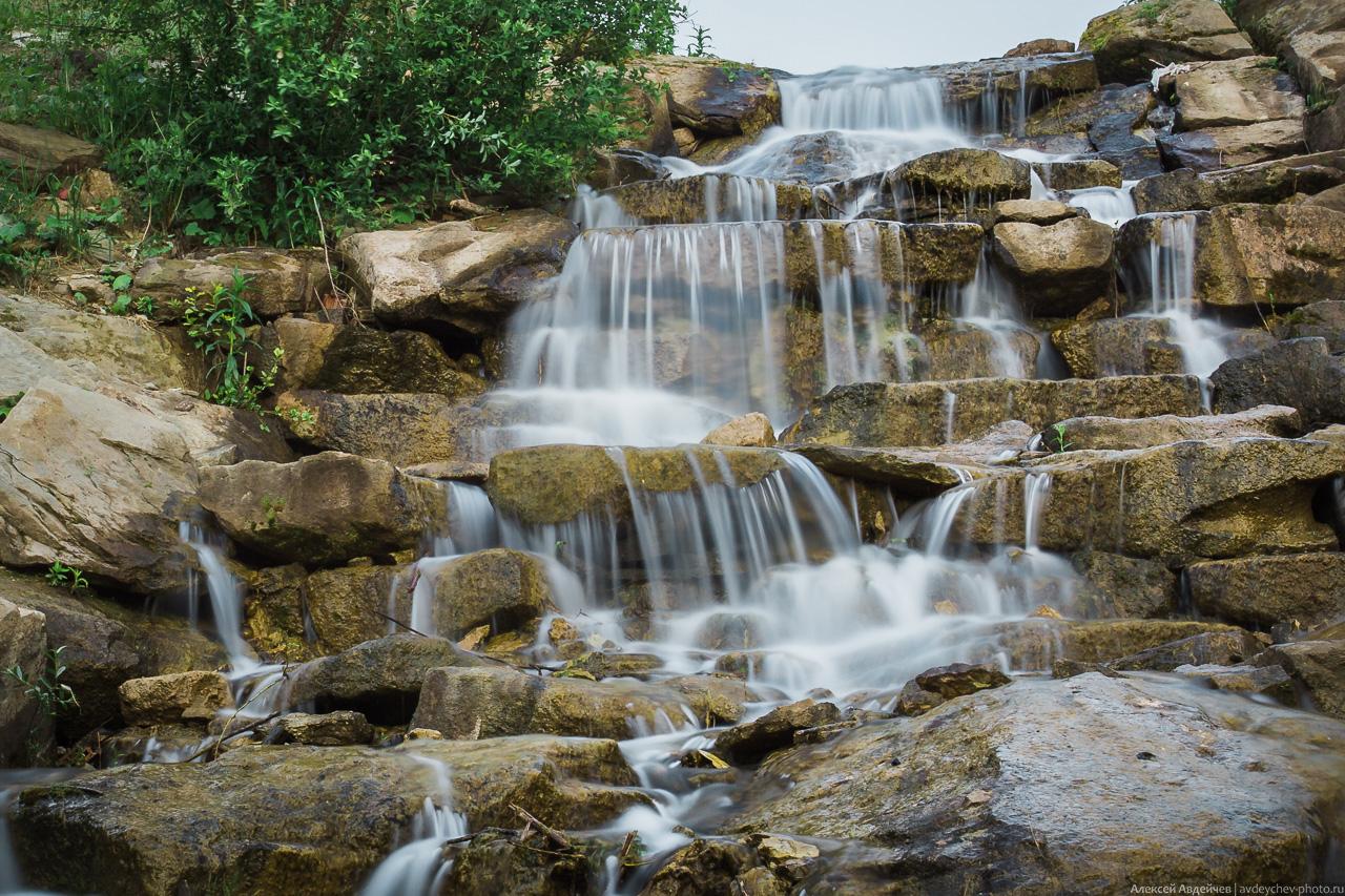 Водопад под Сырейкой