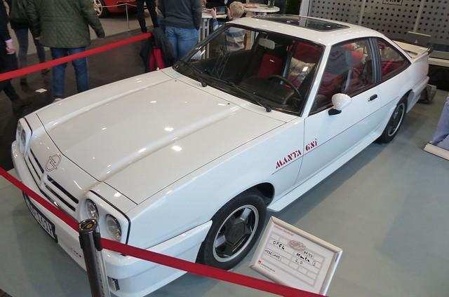 Opel Manta B GSi 1988 white vlo