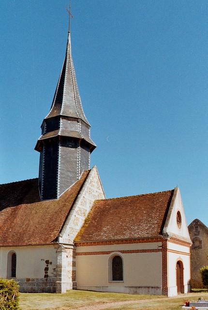 Eglise St-Hilaire de Courteilles