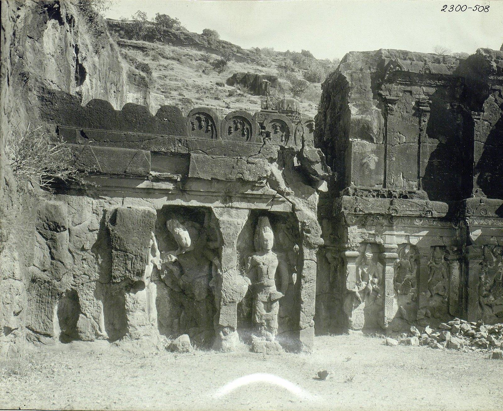 Храм Кайласа в Эллоре (первая пещера) (1)