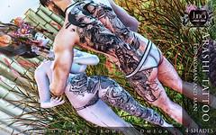 Arashi tattoo Unisex