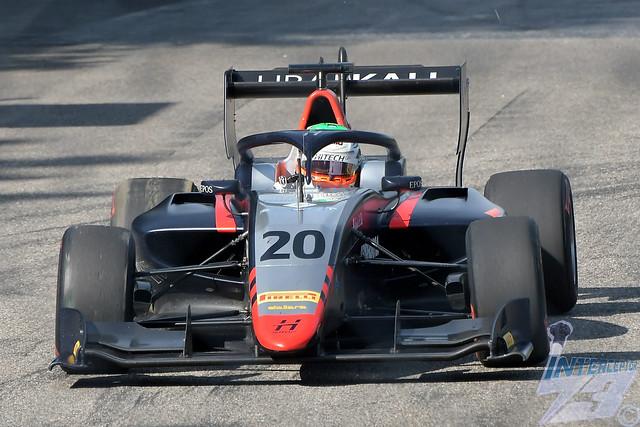Leonardo Pulcini, Hitech Grand Prix Dallara F3 2019-Mecachrome, 2019 FIA Formula 3 Championship feature race R7, Italian Grand Prix Support Race, Monza, 7th September