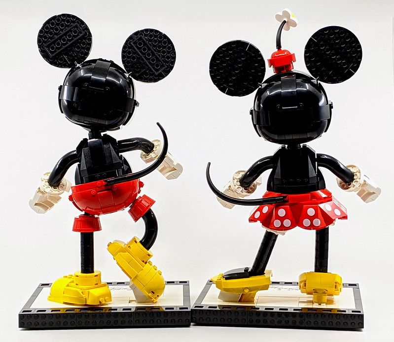 43179: Mickey & Minnie Mouse Buildable Characters Review