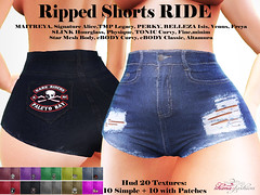 Ripped Shorts RIDE
