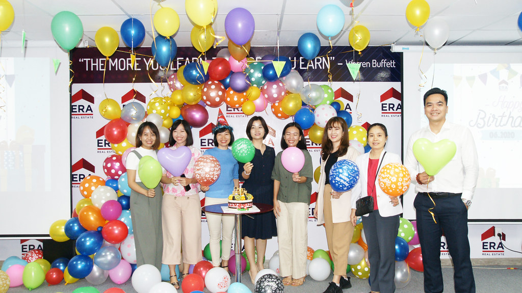 Mừng Sinh nhật thành viên ERA Vietnam 06-2020 2