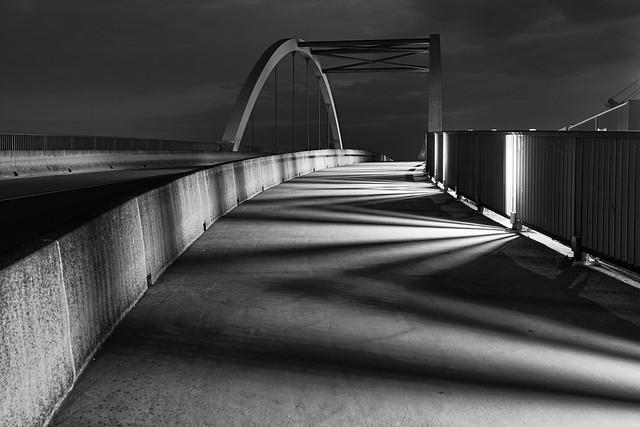 Mannheim Rheinau Hafenbrücke