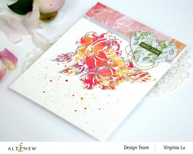 Altenew-SpringRoseDieSet-WatercolorFrameStampSet #5