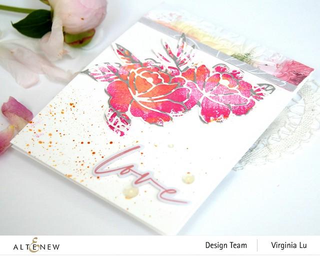 Altenew-SpringRoseDieSet-WatercolorFrameStampSet #4