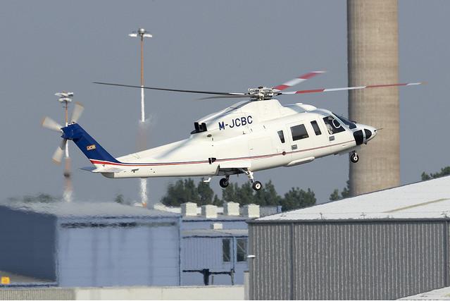 JCB Sikorsky S-76C M-JCBC at East Midlands EGNX/EMA